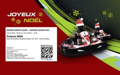 Le Karting de Nevers Magny-Cours se met aux couleurs de Noël